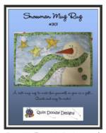 Snowman Mug Rug_image