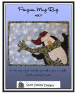 Penguin Mug Rug Pattern_image