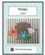 Hedgie Applique pattern_image