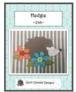Hedgie Applique pattern_image